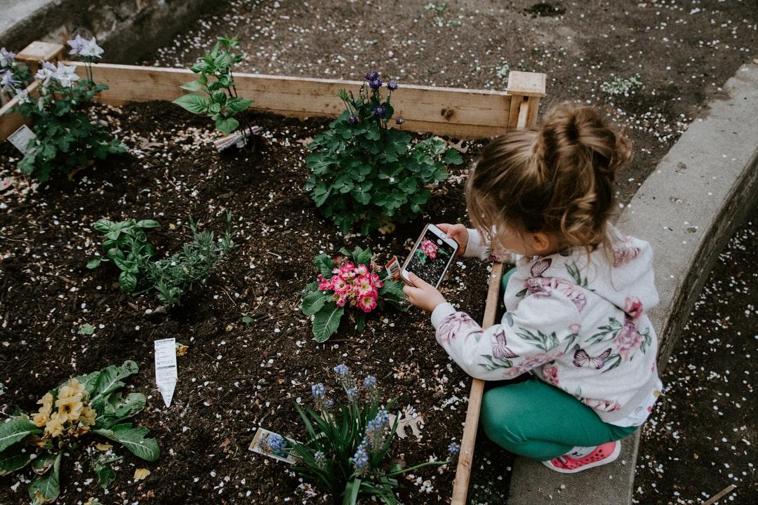 jardinage famille
