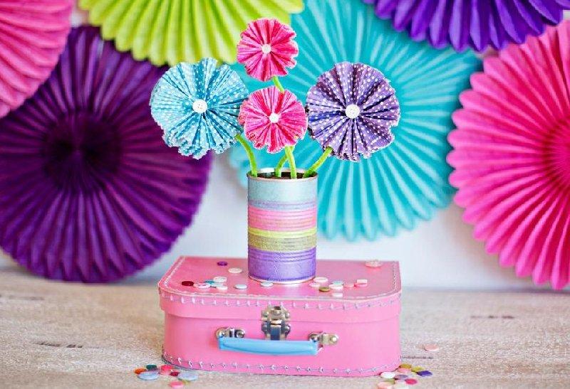 Fleurs de cupcake faites maison