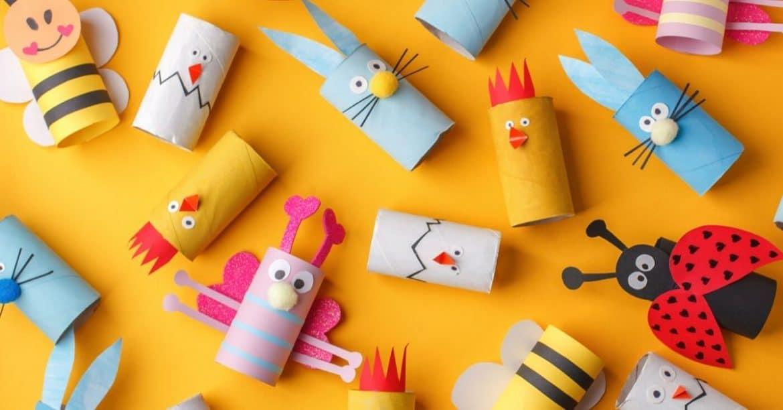 animaux rouleau papier toilette