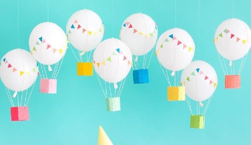 idée de bricolage de ballons pour les enfants