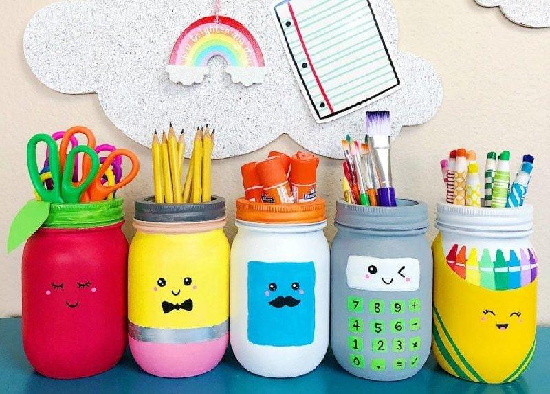 Idée de peinture sur bocal Mason pour les enfants